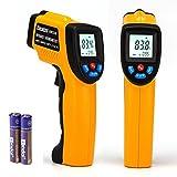 Peralng® Laser Infrarot Thermometer Pyrometer -50~380°C Infrarot-MessungTemperaturmesser Temperaturmessgerät IR Digital