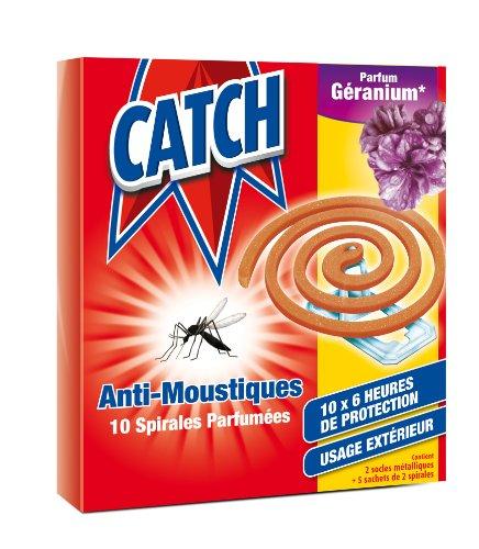 Cattura 6145 zanzara bobina, per uso esterno, il profumo dei gerani