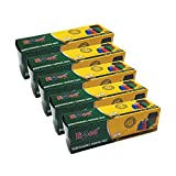 #10: Ezee Bio-degradable Large Garbage Bags/Trash Bags/Dustbin Bags (24 X 32 inches) Pack of 5 (75 Pieces) 15 Pcs Each Pack