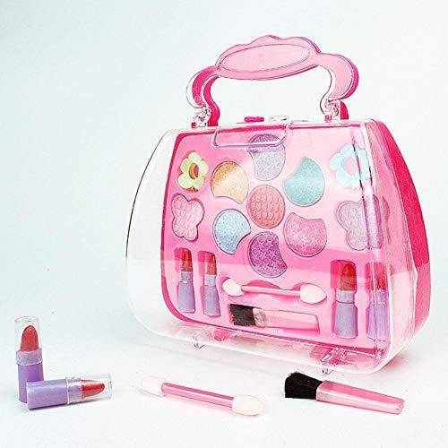 Kleinkindspielzeug Spiel Make-Up Spielzeug Palette Mädchen Kosmetik Schönheit Fall Rouge Tragen Kaufläden