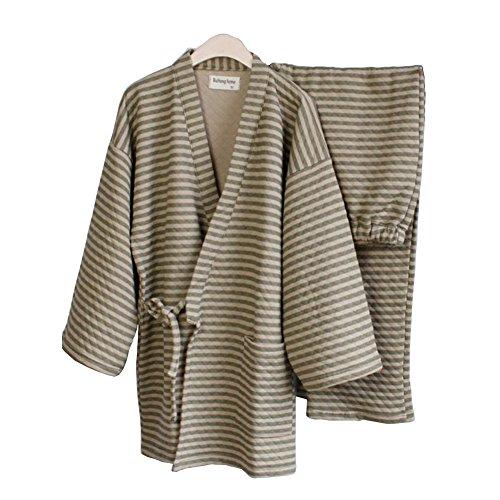 Pyjamas d'hiver chauds Pour Homme, kostüm Plus épais de Style japonais - Taille L ()