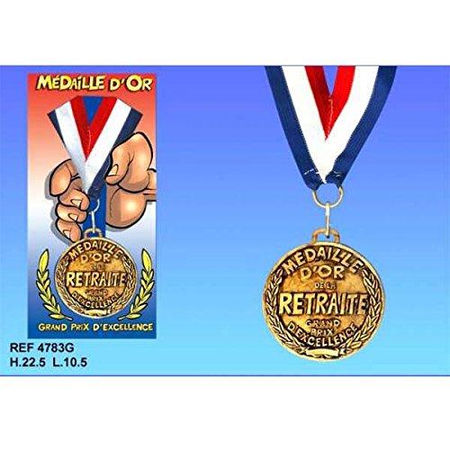 La médaille d'or retraite