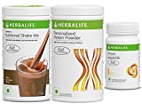 Herbalife F 1 Chocolate ,F 3 Protein Powder400 gm And Afresh Lemon - 50 gm