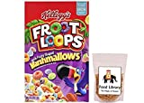 #9: Combo of Kellogg's Fruit Loops With Marshmallows (Imported), 375g + Food Library Golden Raisins, 100g
