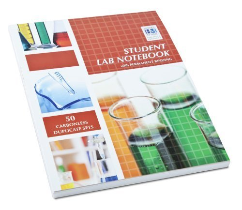 Student Lab Notebook: 50 Top Bound Carbonless Duplicate Sets by Hayden-McNeil (2013) Paperback