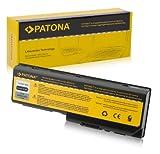 PATONA Laptop Akku für Toshiba Equium P200 - Satellite L350  L350D  L355  P200  P200D  P205  P205D  P300  P300D  P305  P305D - Satellite Pro L350  Pro P200  Pro P300  X200  X205 - Equium L350D-11D  P300-16T  P300-19O  L350-S1001X und weitere... -  Li-ion 6600mAh schwarz