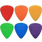24x médiators Dunlop Nylon Picks pour guitare/midi?4de chaque taille dans une boîte pratique Pick