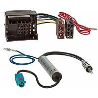 Baseline Connect Radio-Adapterkabel MOST,Quadlock auf ISO plus Phantomeinspeisung Fakra auf DIN