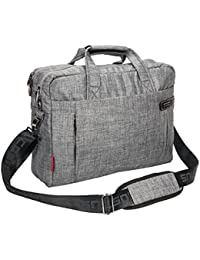 15.6 Inch Laptop Bag Cosmus Milano Grey Well Padded Messenger Bag For MacBook Air / MacBook Pro