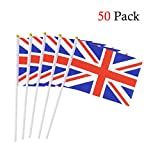 Hand Flagge UK Stockflagge Stab/Stock Fahne
