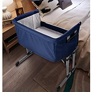 Baby Cozi Sleeper Bedside Sleeping Crib Travel Cot Bed Bedding Bassinet Folding Adjustable Portable