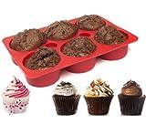 Magische Muffinform - Backform aus Silikon für gefüllte Muffins & Cupcakes