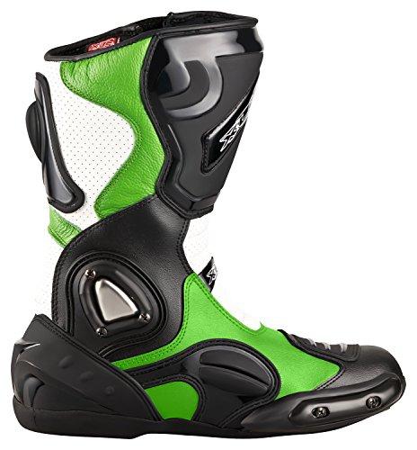 XLS Moto Stivali Racing di Alta qualità Boots Tour ingst iefel Stivali in Pelle Nero V