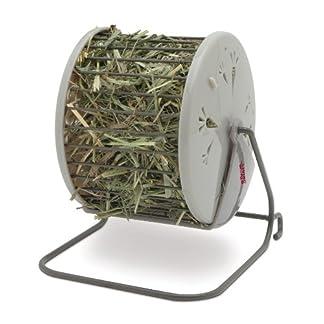 Living World Spinning Hay Dispenser Wheel, 13 x 13 x 15 cm 51xOvFRBFIL