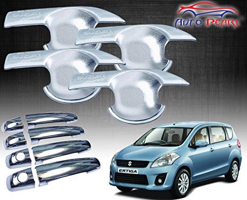 Auto Pearl - Premium Quality Chrome Handle Bowl Insert Trim Cover For - Maruti Suzuki Ertiga  available at amazon for Rs.1129