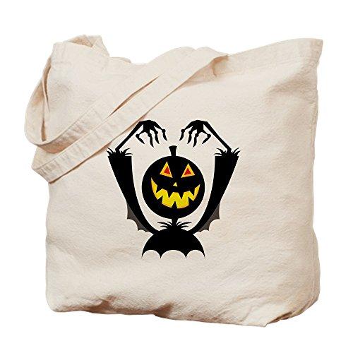 CafePress Halloween-Tragetasche, canvas, khaki, S