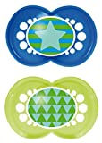 MAM Trends Silicone Pacifier, Blue, 6 Pl...