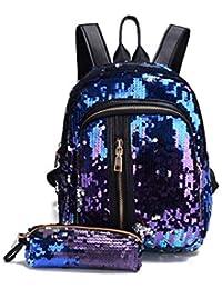 design di qualità ddb2e dc28c Amazon.it: GLITTER - Borse a zainetto / Donna: Scarpe e borse