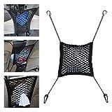 beler Universal Auto Nylon Sitz Speicher Organizer Halter Hanging Bag Elastic String Mesh Net mit Haken