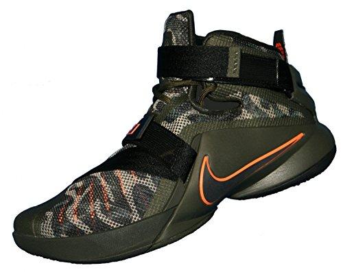 Nike Lebron Soldier Ix Prm, Sneaker uomo (cargo khaki black sequoia bomb 303)