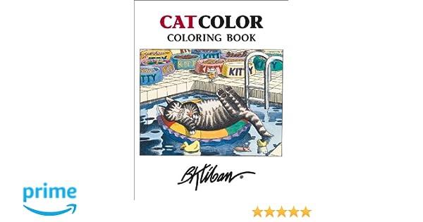 Kliban Catcolor Coloring Book Cb110 Amazoncouk B Books
