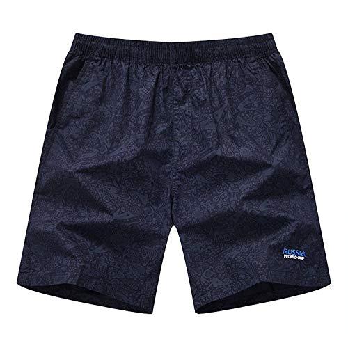 Herren Laufen Board Shorts mit einstellbare, Slim fit Schnitt Besonders weich und bequem Herren Sweatshorts Kurze Hose,Lose lässige Baumwollshorts 6 XXXL -