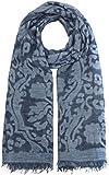 CODELLO Damen Schal 72085813, Blau (Navy Blue 2), One size (Herstellergröße: 130X200 cm)