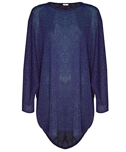 women-batwing-sleeve-lurex-baggy-top