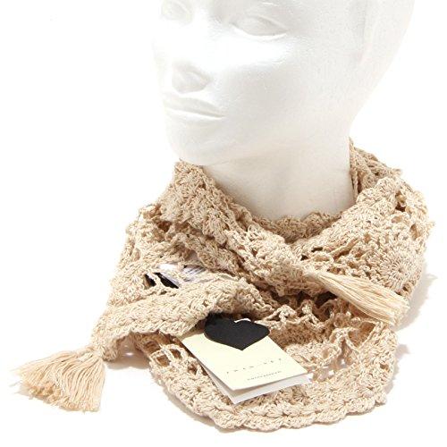 8622O sciarpa donna tricot TWIN SET sciarpe scarf women [Taglia Unica]