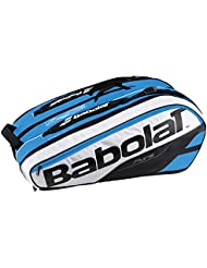 Babolat Rh X 12 Pure Fundas para Raquetas de Tenis, Unisex Adulto, Azul / Blanco, Talla Única