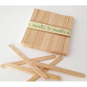 Nutley's 50 Hölzerne Labels zum Bennenen von Samen und Töpfen