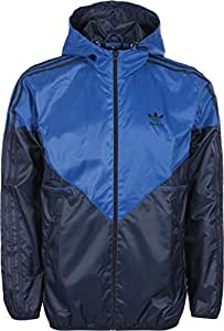 Adidas-blouson-coupe-vent colorado veste pour homme S Bleu - Bluebird/Collegiate Navy