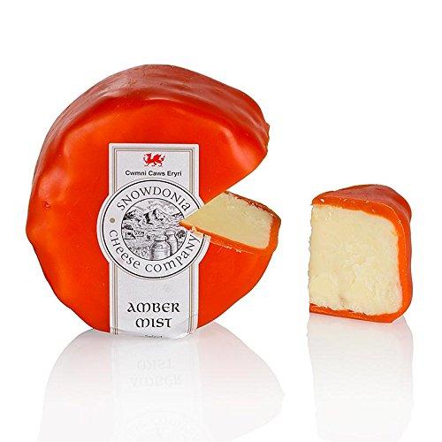 Mist Wachs (Snowdonia - Amber Mist, Cheddar Käse mit Whisky, oranger Wachs, 200g)