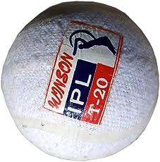 Wilson IPL t-20 Cricket Tennis Light Weight Ball White (Pack of 1)
