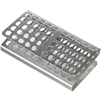 Medline Z-100 ZRack de aluminio, 10 x 5 pulgadas, 12 mm