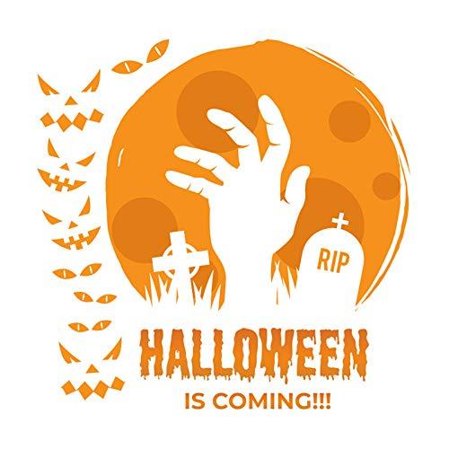 Wallfia Kreatives selbstklebendes PVC-Wandbild DIY Halloween Grabstein Wanddekoration (Grabsteine Machen Halloween-dekoration)