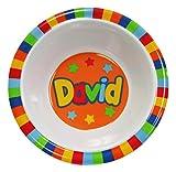 My Name Bowls David USA Personalized Bowl