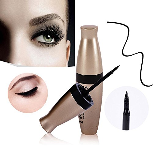 Eyeliner liquide Waterproof, Crayon pour Les Yeux Waterproof Longue Tenue, Séchage Rapide Precise Eyeliner Pencil Pen