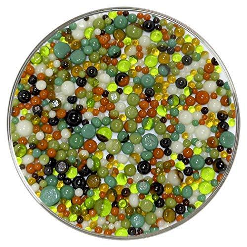 New Hampshire Craftworks Rain Forest Designer Collection Frit Balls - 90COE - aus Bullseye Glas -