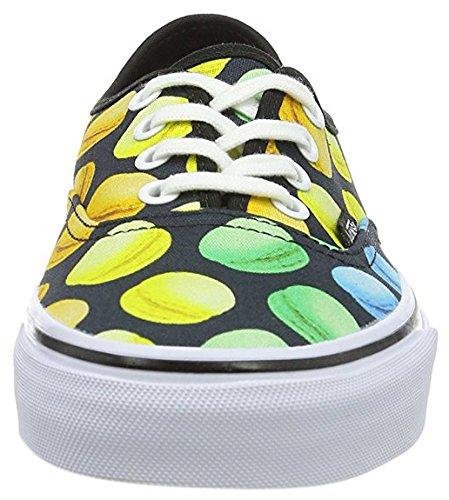 Vans Authentic, Chaussures Femme Noir / Multicolor