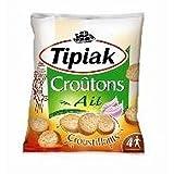 Tipiak crostini all'aglio 90g - ( Prezzo unitario ) - Tipiak croutons ail 90g