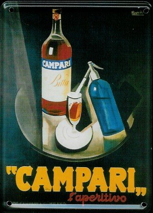 campari-mini-plaque-reklamewelt-8-x-11-cm-motif-panneau-dindication-en-metal-sign-tin