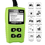 OBDKCAN OBD2 Scanner, JDiag 101 OBDII Code Reader - Battery Tester Car Diagnostic