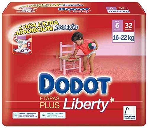 Dodot - Pañales Dodot Liberty Plus T6 32 uds