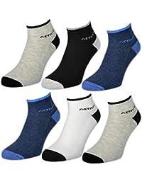 6 oder 12 Paar Herren Sport Sneaker Socken mit verstärkter Frotteesohle - 16210