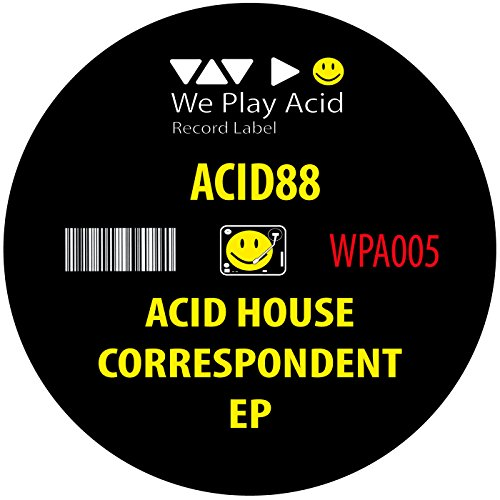 Acid house correspondent acid driver retweak de acid88 for What is acid house music