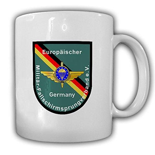 Europäischer Militär - Fallschirmsprungverband eV European Paratrooper EMFV Fallschirmjäger Fallschirmspringer Bundeswehr Fan - Tasse Kaffee Becher #17355
