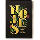 7mm™ Vintage Drama BLACK, 176 pages, Ruled Notebook, 12 x 18 cms