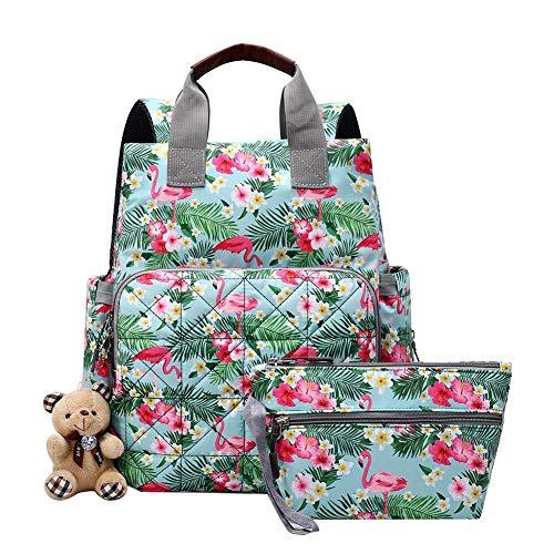 Preisvergleich Produktbild Silverone Wickeltasche Rucksack für Jungen und Mädchen, großes Fassungsvermögen, für Mutterschaft und Baby, für Reisen