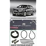 Audi Q72005–2013Wabco Compresor Suspensión Aire Pistón Anillo Reparar Kit
